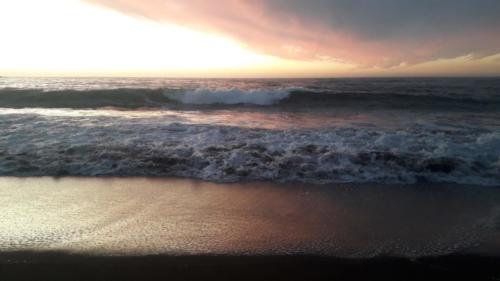 Sonnenuntergang in Pichilemu