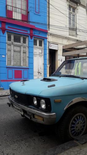 Valparaiso Farben einer Stadt