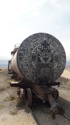 Uyuni Friedhof der Lokomotiven