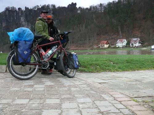 Abschied vom Elbsandsteingebirge und Rathen