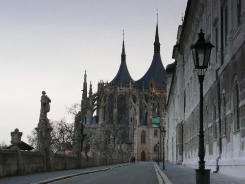 Der Dom von Kunta Hora - Aussenansicht