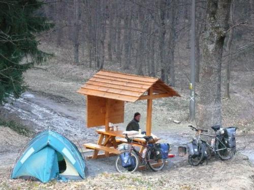 Wildcamp in Tchechien